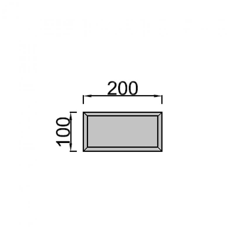 10x20cm stačiakampis
