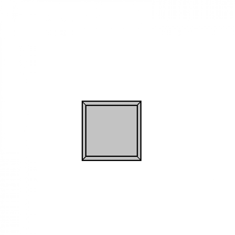 15x15cm kvadratas